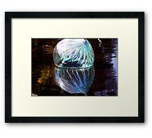 Blue Marble Framed Print