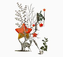 Tree With Stars & Deer 2 Unisex T-Shirt