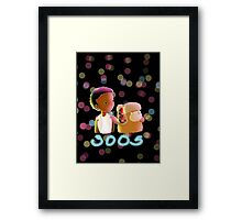 I'll Be Right By Your Side Framed Print
