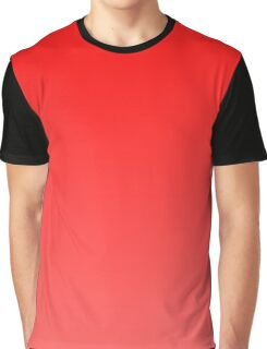 Red To Pink Gradient Graphic T-Shirt