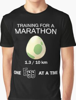 Training for a Marathon Graphic T-Shirt