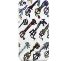 keyblade iPhone Case/Skin