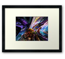 Calming Madness Abstract Framed Print