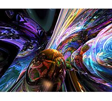 Calming Madness Abstract Photographic Print