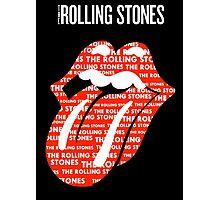 The Rolling Stunes Logo Nineteen Photographic Print