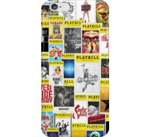 Playbill Collage iPhone Case/Skin