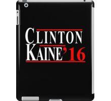 Clinton Kaine 2016 - Democrat iPad Case/Skin