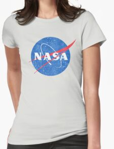 Vintage NASA Womens Fitted T-Shirt