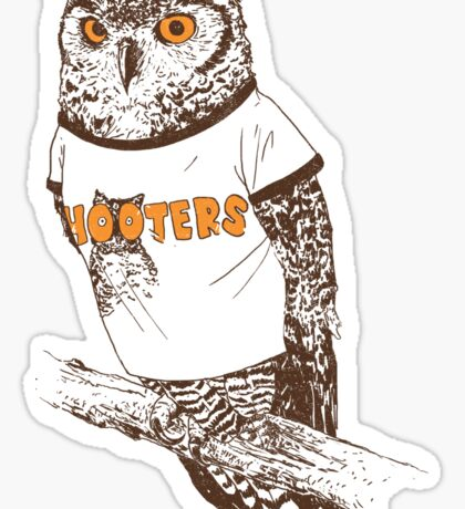 Original Hooter Sticker