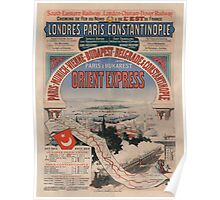 Vintage poster - Orient Express Poster