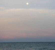 Sunset at Sea by Hyperluminal