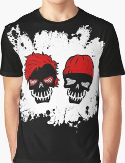 Skull Heathens Graphic T-Shirt