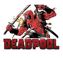 deadpool Photographic Print