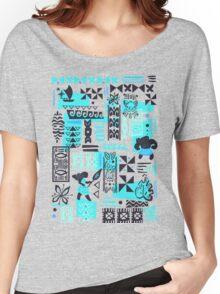 Moana blue print Women's Relaxed Fit T-Shirt