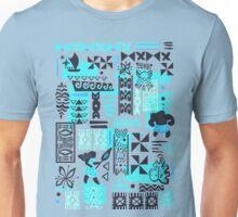 Moana blue print Unisex T-Shirt