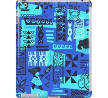 Moana blue print iPad Case/Skin