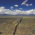 Rio Grande Gorge Bridge by Tamas Bakos