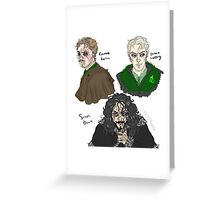 Harry Potter re-imagined 2 Greeting Card