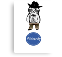 Pillsbandy Doughboy Canvas Print