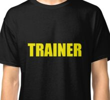 Trainer (Yellow) Classic T-Shirt