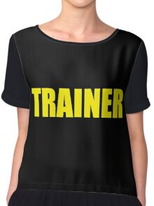 Trainer (Yellow) Chiffon Top