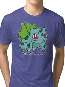 Onion Turtle Tri-blend T-Shirt