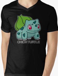 Onion Turtle Mens V-Neck T-Shirt