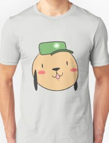happy dog with a hat Unisex T-Shirt