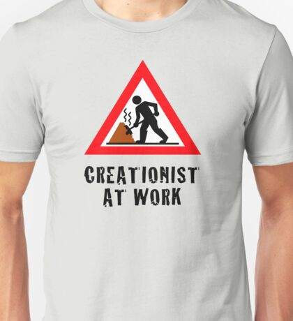 Creationist at Work (Light backgrounds) T-Shirt