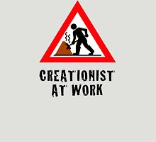 Creationist at Work (Light backgrounds) Unisex T-Shirt