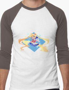 Sailor Moon Men's Baseball ¾ T-Shirt