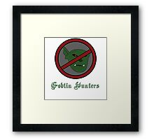 Goblin Hunter Framed Print