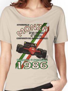 Monza F1 1986 Women's Relaxed Fit T-Shirt