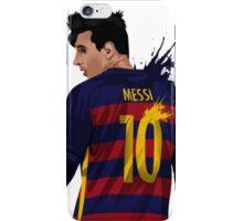 Messi barcelona iPhone Case/Skin