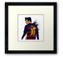 Messi barcelona Framed Print