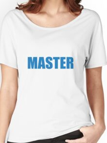 Master (Blue) Women's Relaxed Fit T-Shirt