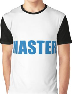Master (Blue) Graphic T-Shirt