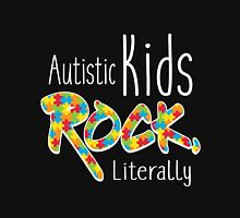 Autistic Kids Rock, Literally Unisex T-Shirt