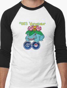 #003 Venasaur GO! Men's Baseball ¾ T-Shirt