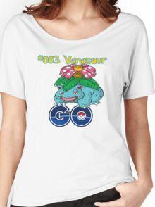 #003 Venasaur GO! Women's Relaxed Fit T-Shirt