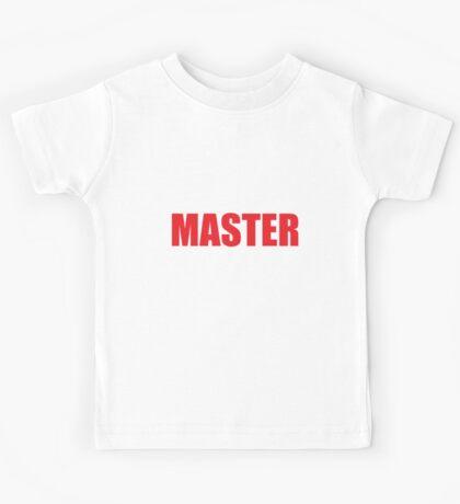 Master (Red) Kids Tee