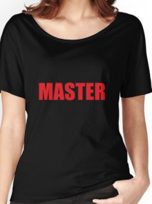 Master (Red) Women's Relaxed Fit T-Shirt