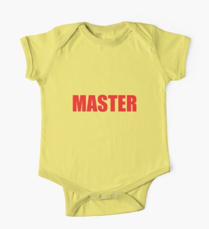 Master (Red) One Piece - Short Sleeve