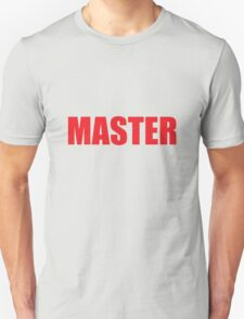 Master (Red) Unisex T-Shirt