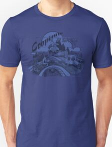 Cooperate on the Road - Blue Unisex T-Shirt