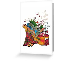 CORN-U-COPE-PEE-AH by Barbara Callahan Greeting Card