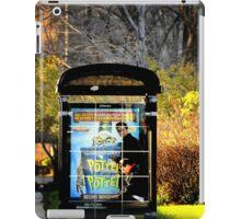 Bus station iPad Case/Skin