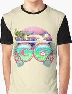 Vaporwave Pokémon Go Graphic T-Shirt