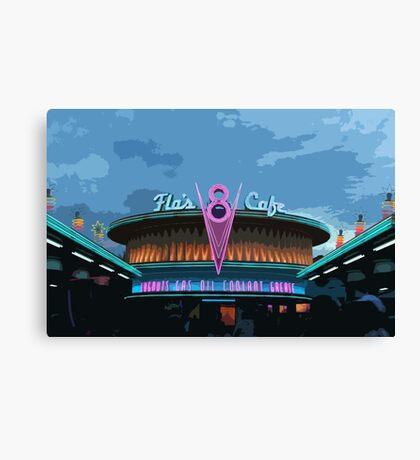 Flo's Cafe Canvas Print