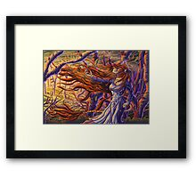 The Fire Within: Discovery Framed Print